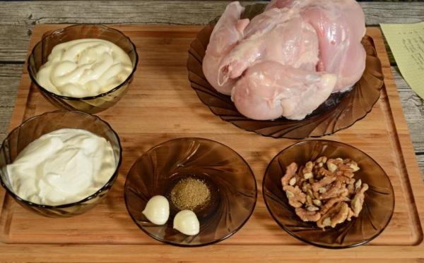Сациви из курицы по-грузински. Лучшие рецепты с фото, особенности приготовления и подачи