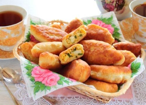 Пирожки на сковороде. Рецепт жареных на сковороде с мясом, яйцом, картошкой, на кефире, из лаваша