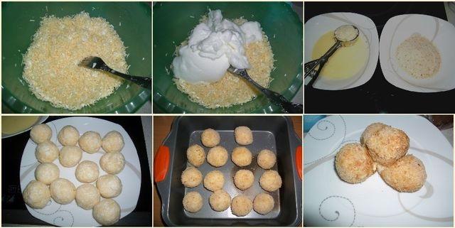 Сырные шарики. Рецепты из плавленного сыра, творога, с крабовыми палочками, ветчиной, чесноком, во фритюре, духовке