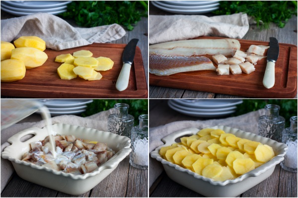 Гратен из картофеля классический, из цветной капусты, брокколи, кабачков, баклажанов, с курицей, мясом, сыром, сливками