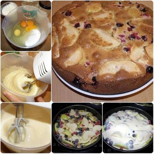 Как приготовить пышную шарлотку с яблоками в духовке, мультиварке. Тесто для пирога