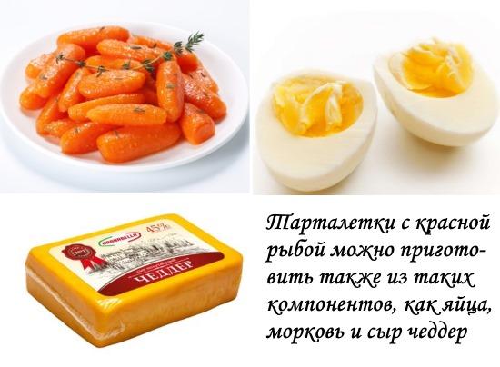 Как приготовить тарталетки с красной рыбой. Рецепты простые и вкусные, с творожным, сливочным, плавленным сыром, огурцом, икрой. Фото