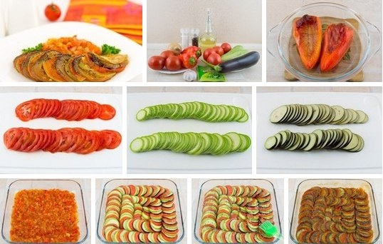 Рататуй. Как готовить, рецепт в духовке, мультиварке, на сковороде с мясом, Моцареллой, картошкой