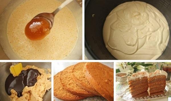 Как приготовить торт в мультиварке. Рецепты с фото пошагово в домашних условиях