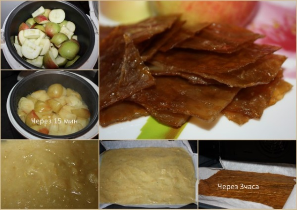Яблочная пастила. Как приготовить в духовке, рецепт без сахара, в электросушилке для фруктов