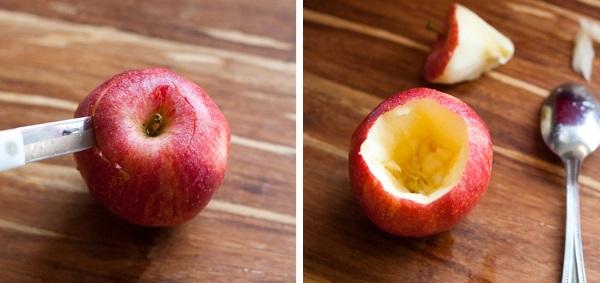 Запеченные яблоки в духовке. Диетические, рецепт детям с творогом, медом, изюмом, корицей, сахаром, в тесте. Как приготовить пошагово с фото