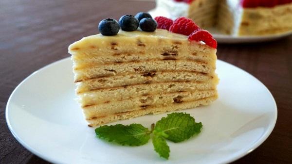 Рецепт заварного крема для торта. Классический для Наполеона, Медовика, Бисквита, эклеров, со сгущенкой, на молоке, белковый, сметанный, шоколадный, без масла