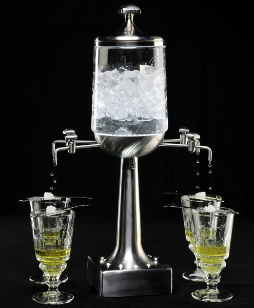 Как правильно пить абсент с соком, сахаром, зеленый, 70 градусов, чем закусывать