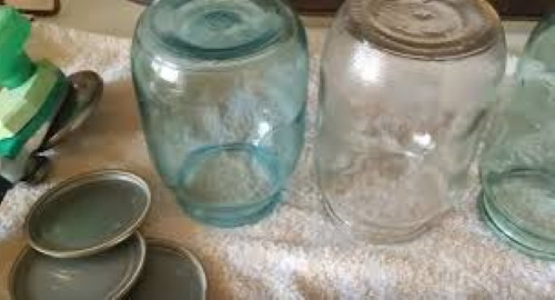 Стерилизация банок в микроволновке без воды сухим способом, с водой, заготовками