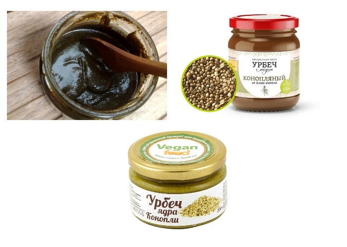 Урбеч из конопляных семян. Польза и вред, рецепты, как применять, употреблять, противопоказания