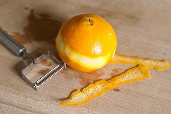 Цедра апельсина. Как сделать, польза, вред, свойства, использование от кашля, перегара, паразитов, простуды